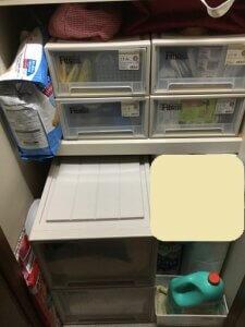 物入 収納 棚 片付け後 アフター ペット用品