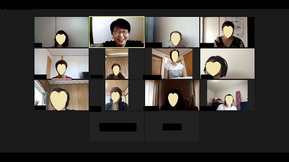安東流 書類整理Zoomセミナー 受講生