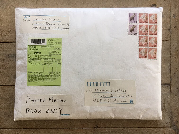 安東流 書類整理ハンドブック 海外発送