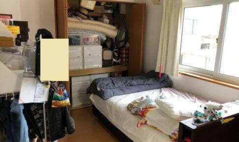 ビフォーアフター 母子の寝室 片付け前